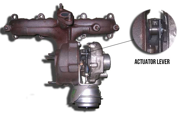 Turbo Actuator Lever
