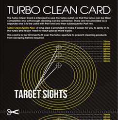 Turbo Cleaner Card Sights
